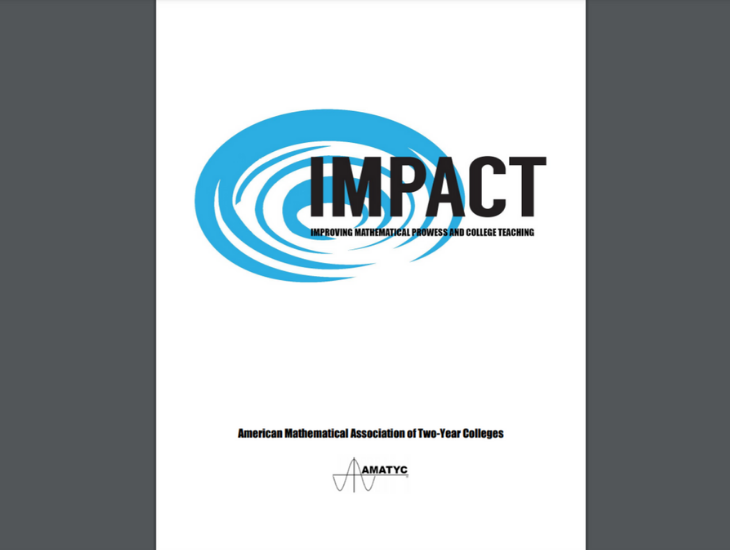 Instructional Standards Guide from the American Mathematical Association of Two-Year Colleges